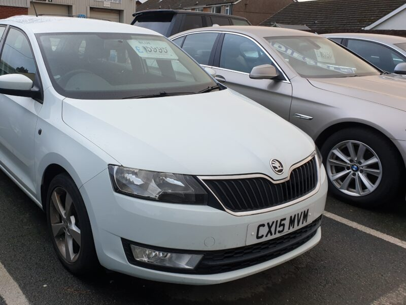 2015 SKODA RAPID SPACEBACK TECH SE TSI